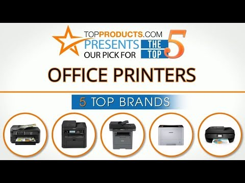 Best Office Printer Reviews 2017 – How to Choose the Best Office Printer