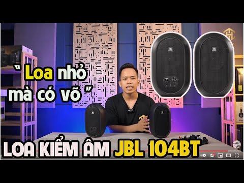 Loa Kiểm Âm Mỹ JBL 104BT Kiêm Loa Nghe Nhạc Bluetooth NHỎ MÀ CÓ VÕ giá 5,4 triệu Truyền Hữu Music