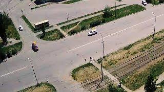ДТП (авария г. Волжский) ул. Мира ул. Александрова 19-06-2017 12-53