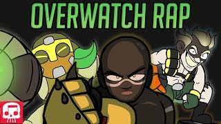 OVERWATCH RAP by JT Music (feat. Brizzy Voices, Lazarbeam & Andrea Kaden) [Hero Rap #4]