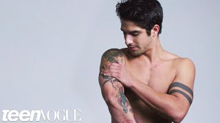 Teen Wolfs Tyler Posey Explains His Tattoos | Teen Vogue