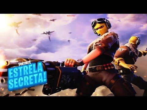 ESTRELA DE BATALHA SECRETA SEMANA 1 TEMPORADA 9 DE FORTNITE