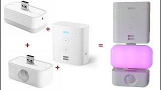 Review Amazon 1x Echo Flex + Bewegungssensor + Nachtlicht zusammen betreiben  Einrichten  Alexa