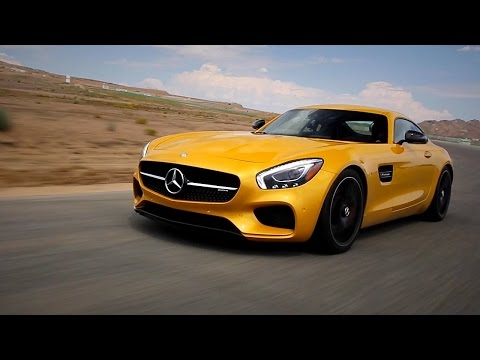Mercedes Benz AMG GT Coupe Купе класса A - тест-драйв 1