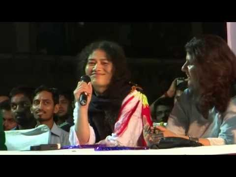 Irom Sharmila Speaks at a Public Meeting in JNU (2016)