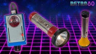 Retro80 #38 ☎️ Alte Taschenlampen