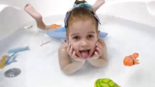 Рыбки на магнитах с удочкой в ванне