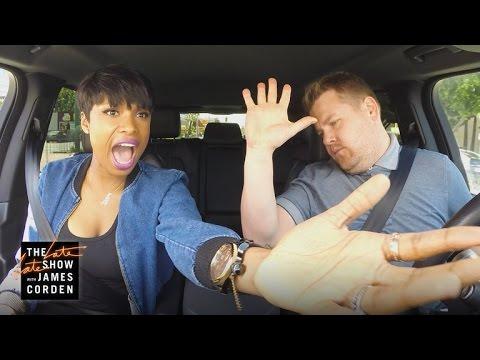 James corden and jennifer hudson carpool karaoke video for Car pool karaoke show