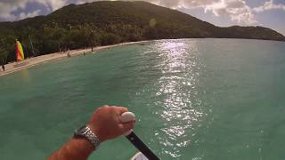 preview picture of video 'GoPro HD: Paddle Boarding Cinnamon Bay St. John USVI'