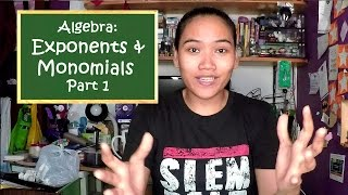 Algebra: Exponents And Monomials Part 1 - Civil Service Exam Review