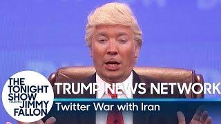 Trump News Network: Twitter War with Iran