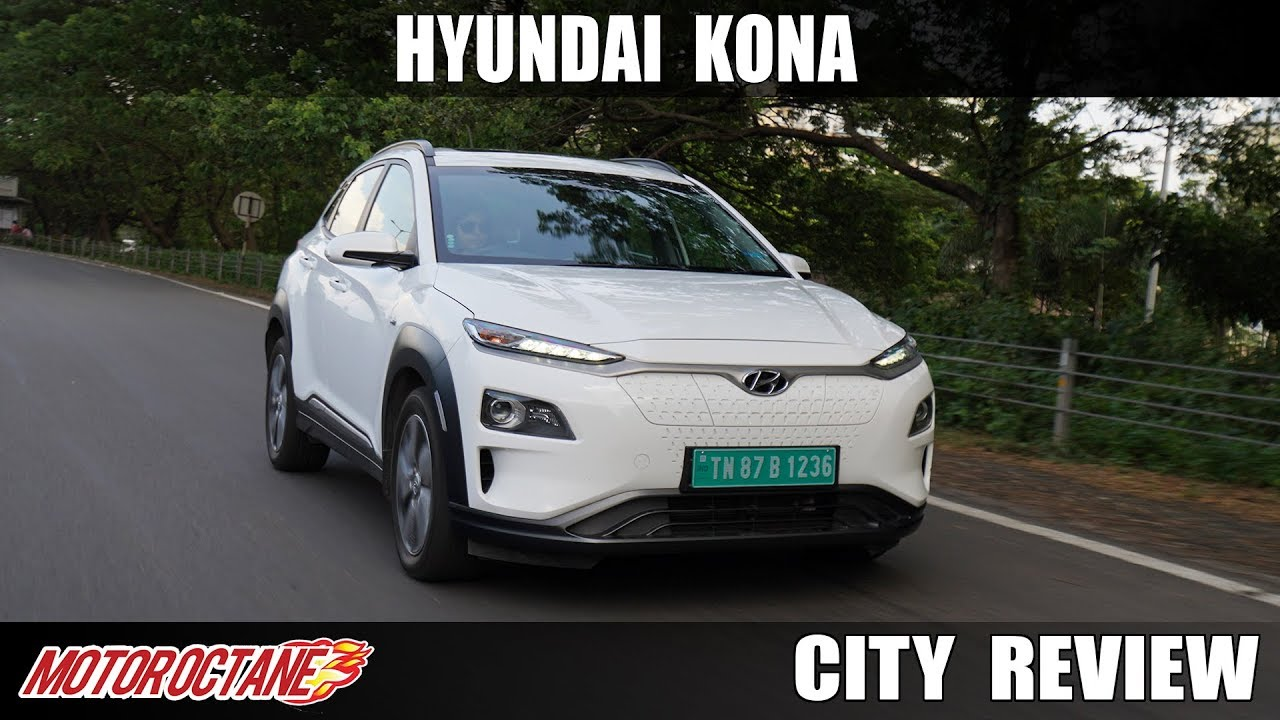 Motoroctane Youtube Video - Hyundai Kona Electric SUV Review | Hindi | MotorOctane