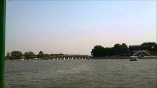 preview picture of video '【北京五天遊 A trip to Beijing】頤和園昆明湖觀光船全程風景 Full ride of the Summer palace boat tour'