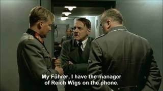 Hitler phones Reich Wigs to order a ridiculous wig for Jodl