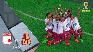 Santa Fe 1-2 Tolima Resumen Y Goles En La Ida De Cuartos De Final De La Liga Águila 2018-II