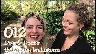 Do's & Dont's tijdens een brainstorm
