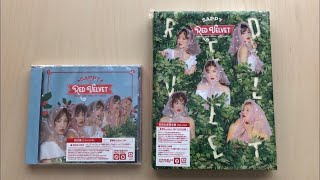 ♡Unboxing Red Velvet レッド・ベルベット2nd Japanese Mini Album Sappy (Standard & Limited Edition)♡