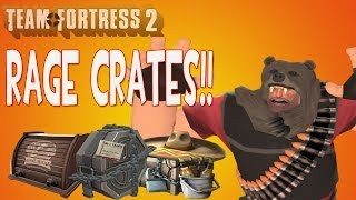 Tf2 Crafting Unboxing 10 New Bread Boxes Uncrating A New