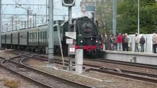 preview picture of video '175 jaar Belgische spoorwegen Stoomrit Schaarbeek Leuven'