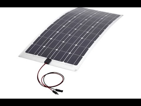 Installing a Flexible Solar Panel on a Boat