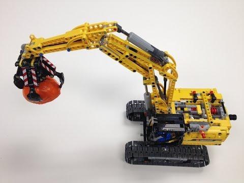 Vidéo LEGO Technic 42006 : La pelleteuse