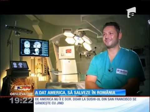 Ştefan Mindea – neurochirurgul de Stanford care a venit să salveze în România