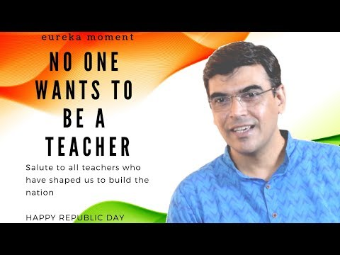 No One Wants to be a Teacher