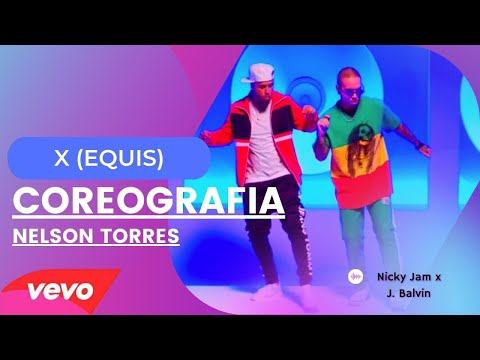 X (EQUIS) NICKY JAM FEAT. J BALVIN COREOGRAFÍA ZUMBA BY NELSON TORRES -FLOW FIT DANCE