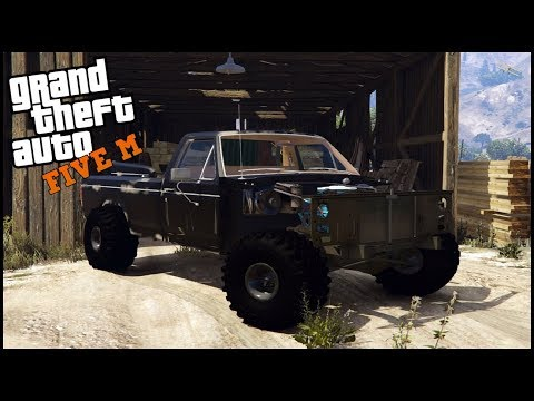 GTA 5 ROLEPLAY - SAVING A RARE TRUCK FROM THE SCRAP YARD - EP. 633 - CIV
