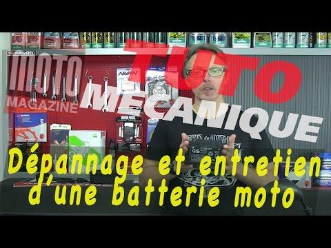 Dépannage et entretien d'une batterie moto - Tuto mécanique moto (Motomag)
