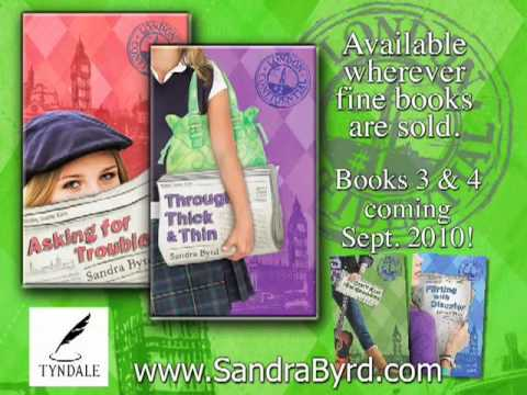 LONDON CONFIDENTIAL Series Books 1 & 2 by Sandra Byrd