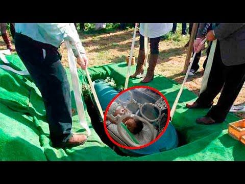ШОК! Женщина после смерти родила ребенка в гробу - настоящее чудо!! (видео)