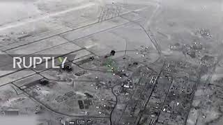 Irak: Pentagon ujawnia materiał filmowy o rzekomym irańskim ataku na amerykańską bazę lotniczą w Al Anbar