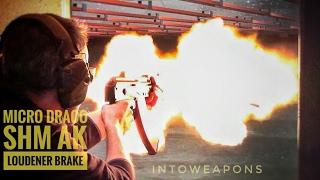 Micro Draco AK Pistol With SHM LOUDENER