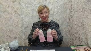 """Вязание крючком для детей от О.С. Литвиной. Варежки детские """"Лапочка""""."""