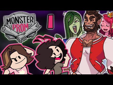 Monster Prom: Getting To Know The Crew - PART 1 - Game Grumps