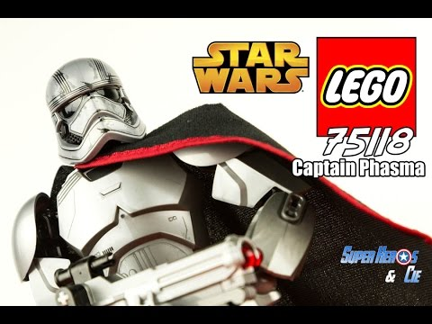 Vidéo LEGO Star Wars 75118 : Capitaine Phasma