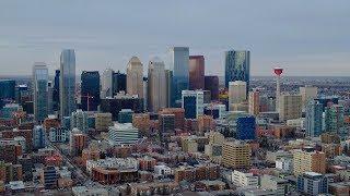 Take a drone tour of Calgary