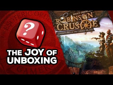 The Joy of Unboxing: Robinson Crusoe
