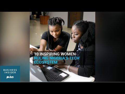 Inspiring Women Ruling Nigeria's tech ecosystem