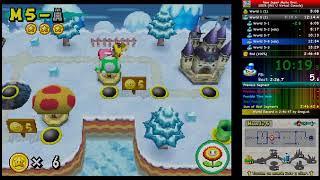 New Super Mario Bros. (DS) (100%) In 2:39:47