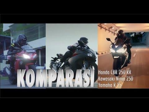 Komparasi Honda CBR250RR vs Yamaha R25 vs Kawasaki Ninja 250 I OTO.COM