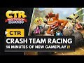 Crash Team Racing Nitro-Fueled PS4 | 14 Minutes of NEW gameplay