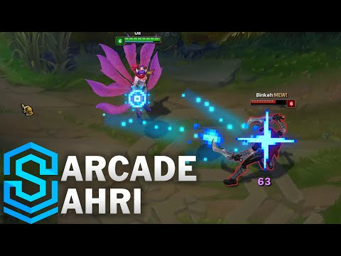 arcade ahri revi league legends