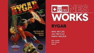 Rygar retrospective: The sunset of a new dawn for NES | NES Works #044