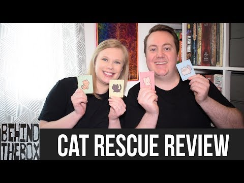 Cat Rescue - Behind the Box Review