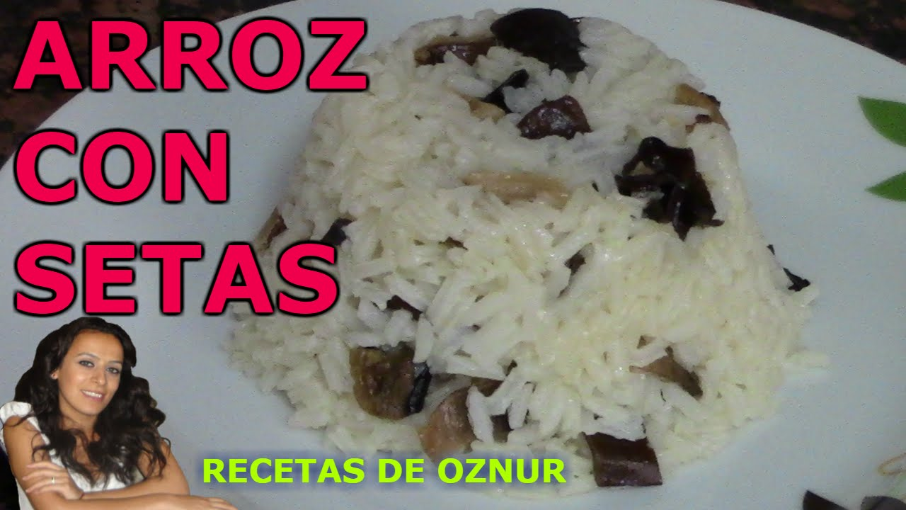 ARROZ CON SETAS SECAS | recetas de cocina faciles rapidas y economicas de hacer - comidas ricas
