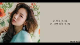 Fire - Taeyeon Lyrics [Han,Rom,Eng]