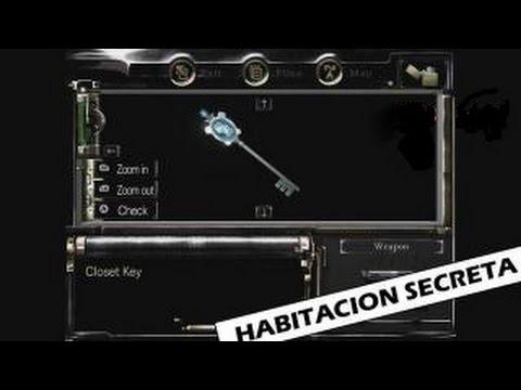 Resident Evil Remaster HD - Habitación Secreta , Llave del Armario.