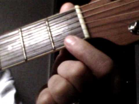 Easiest G7 chord, HOW TO PLAY GUITAR TUTORIAL VERY EASY INSTRUCTION LESSON  FREE BEGINNER